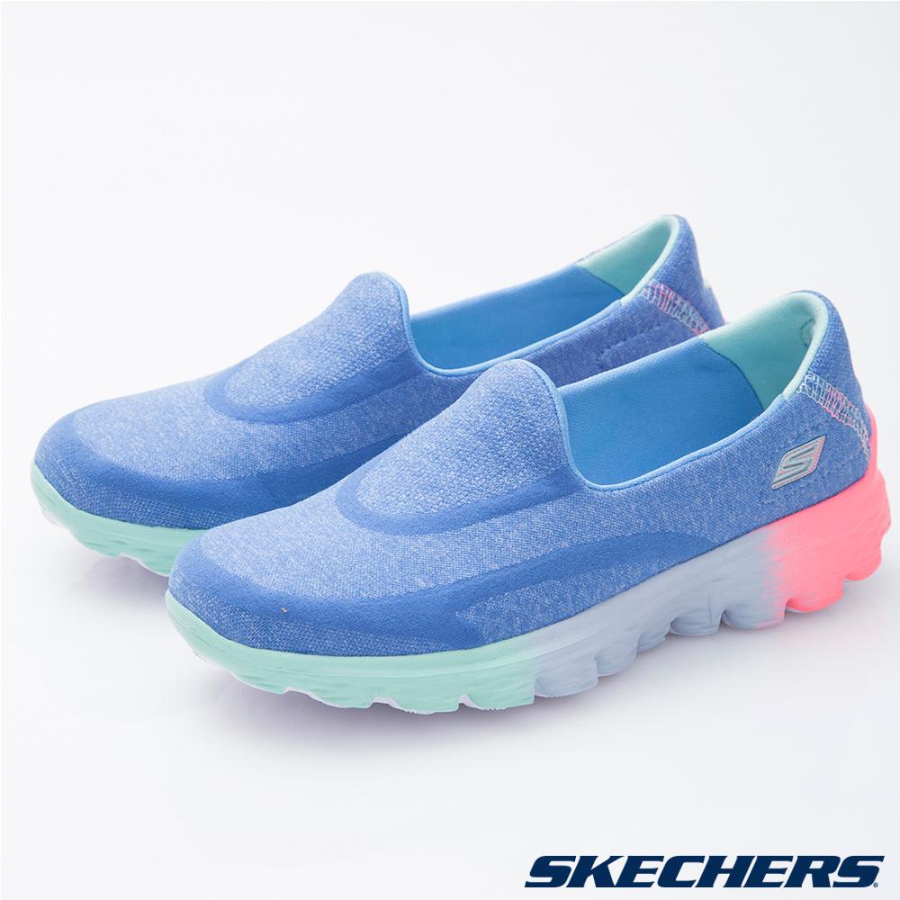 SKECHERS (童) 女童系列 GO Walk 2 - 81075LBLMT