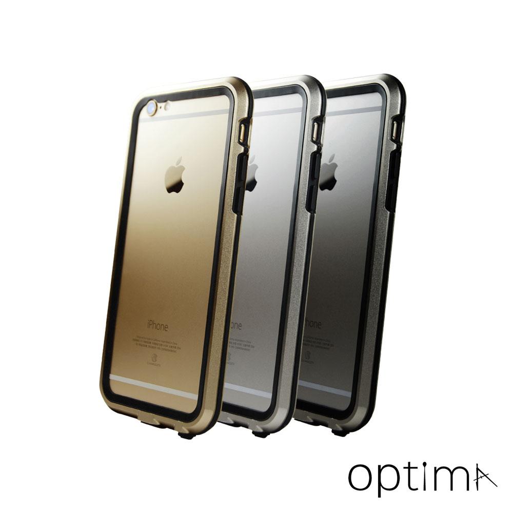 Optima iPhone 6 Metal Bumper雙層防護鋁合金邊框