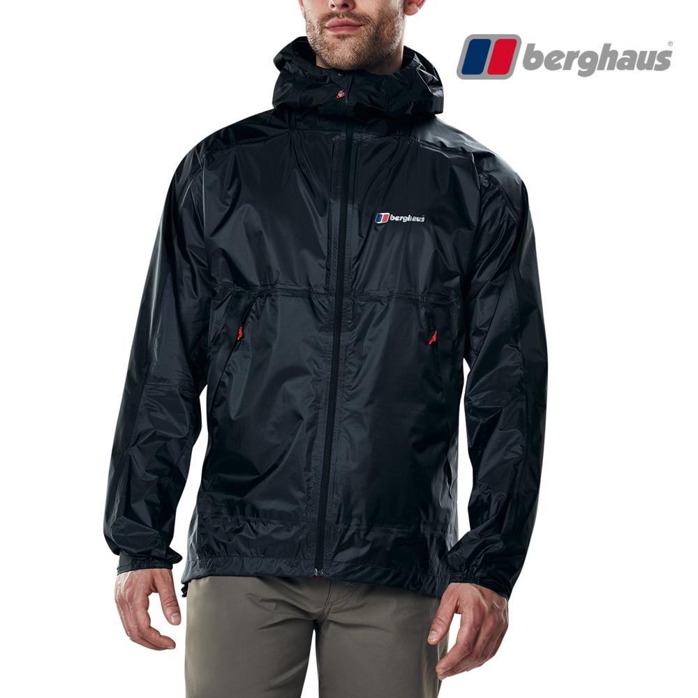 【Berghaus貝豪斯】男款Hydroshell防水透氣外套S02M07-灰