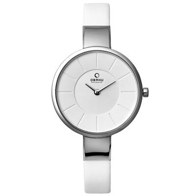 OBAKU 采麗時刻時尚腕錶-V149LCIRW1/32mm
