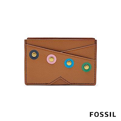 FOSSIL GIFT 普普點點真皮名片夾