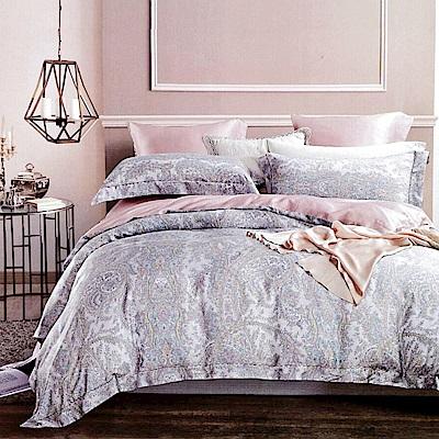 Lily Royal 60支頂級天絲 六件式兩用被床罩組 雙人 奧德