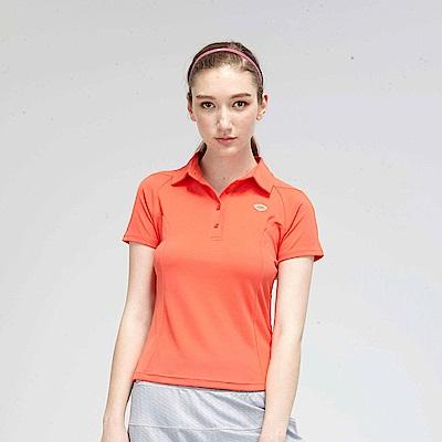 【TOP GIRL】繽紛糖果系簡約POLO衫-橘色