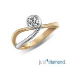 Just Diamond 真女人系列雙色金鑽石戒指-Flirting