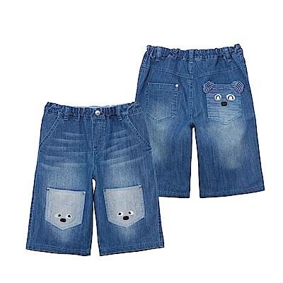 WHY AND 1/2 普普熊牛仔短褲 11Y~14Y以上