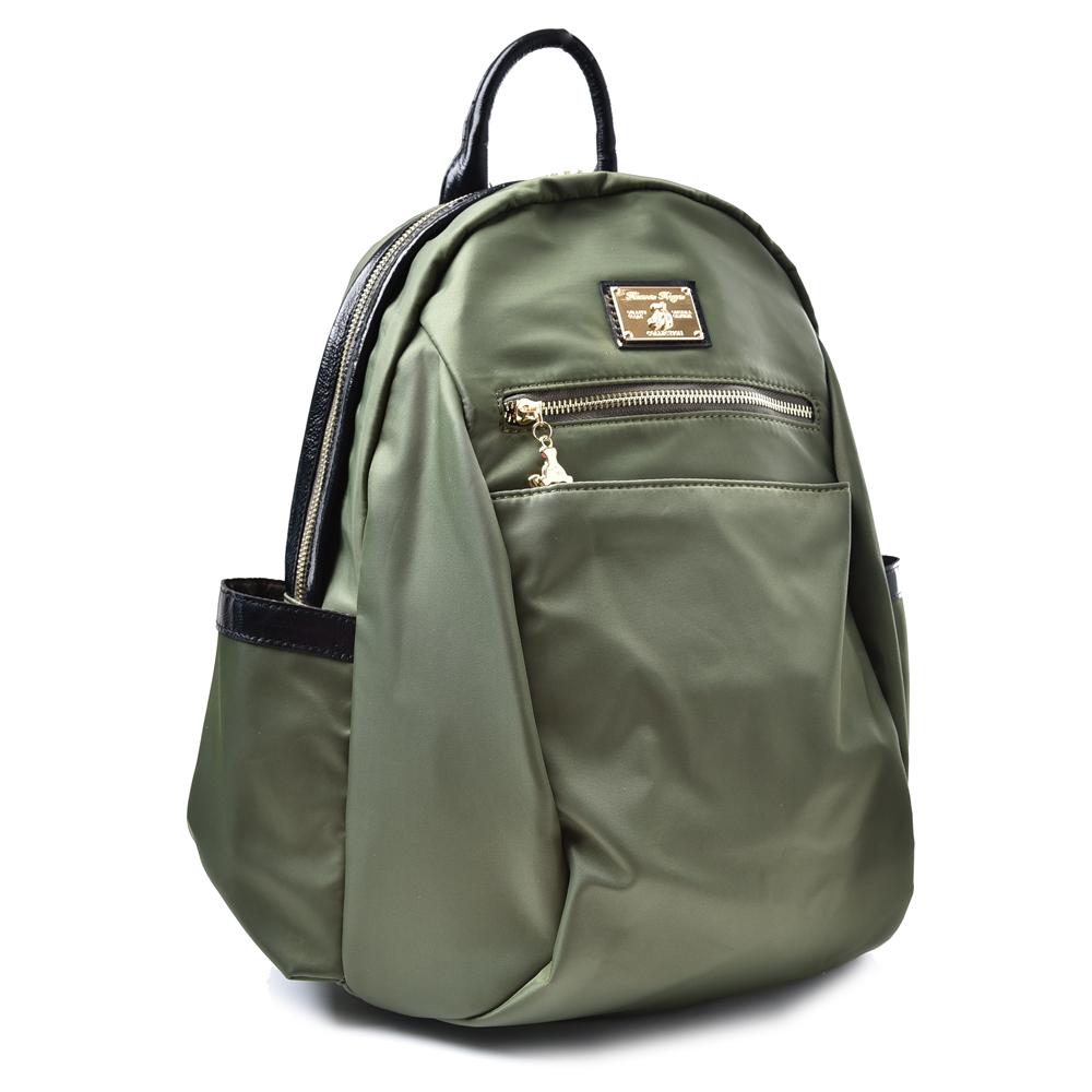 kuma heya -日本帆布完美輕旅後背包-軍綠