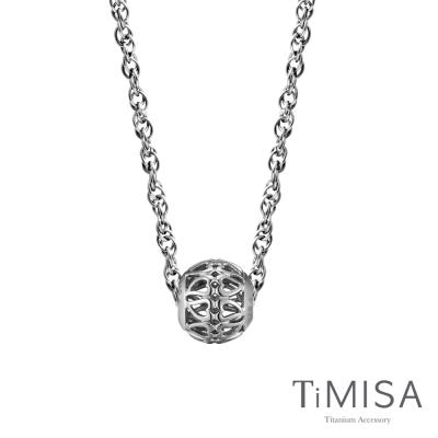 TiMISA 心的方向  純鈦串飾項鍊(SB)