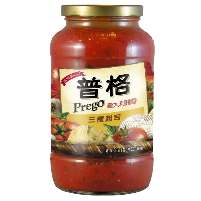 Prego 義大利麵醬-三種起司(680g)