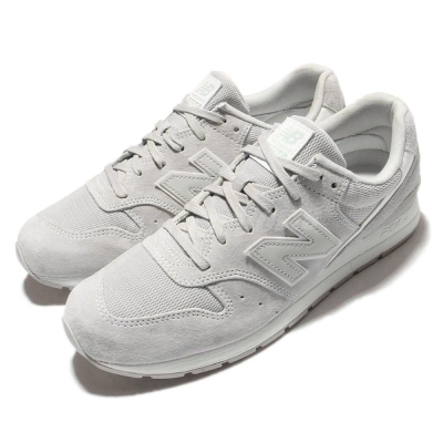 休閒鞋New Balance 996慢跑灰白