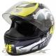 冠軍之路可掀式全罩安全帽TS41A黑黃+新一代免洗安全帽內襯套6入 product thumbnail 1