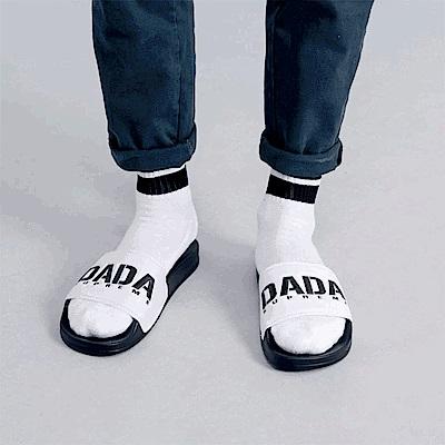 DADA SUPREME A.D.A.N. 潮流運動拖鞋-男-黑白