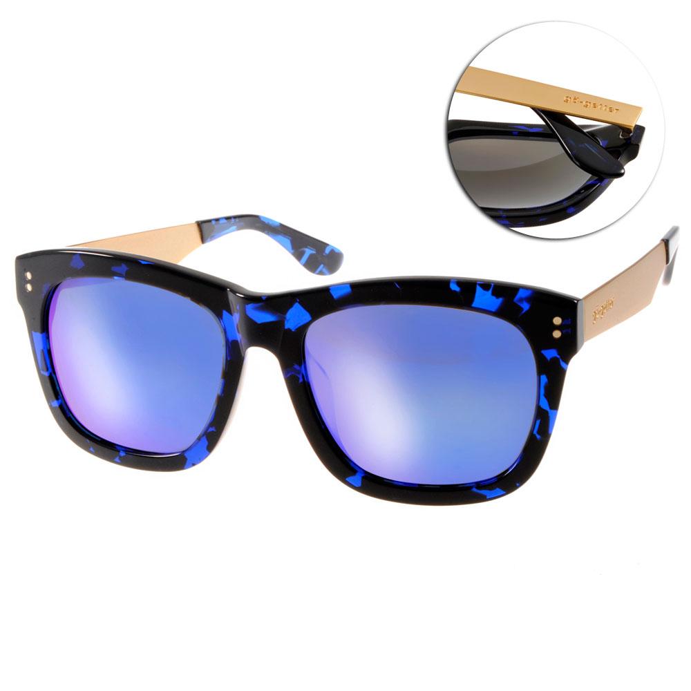 Go-Getter太陽眼鏡 韓系必備/琥珀藍-金#GS1011 BLDEBM