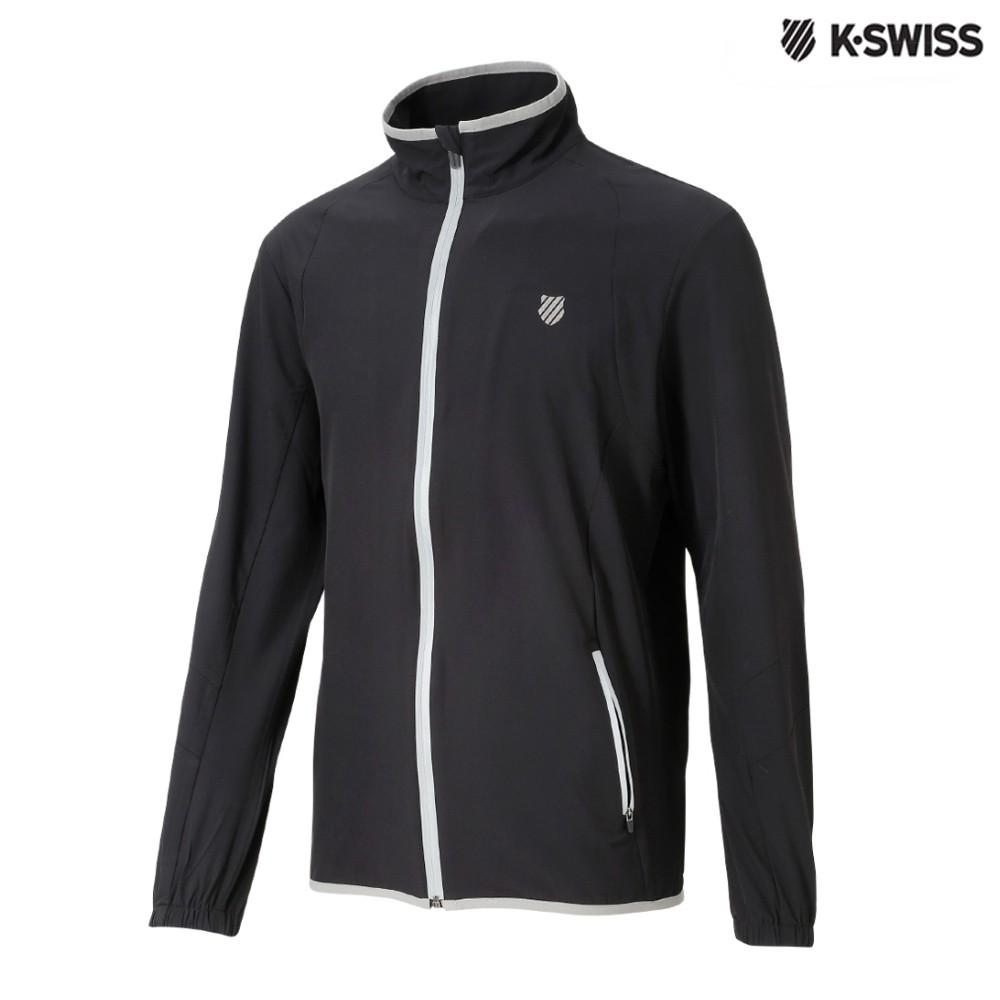 K-SWISS Perf. Windbreaker風衣外套-男-黑