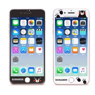 GARMMA 熊本熊 iPhone 7/8 滿版鋼化玻璃膜