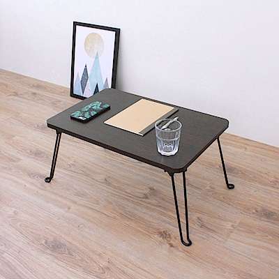 頂堅 折疊桌/野餐桌/便利桌/茶几-二色可選(寬60x長40/公分)