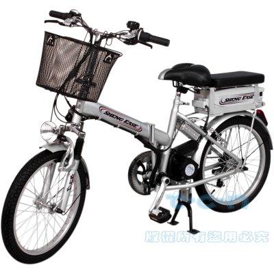 勝一EV20F電動輔助自行車(鋰電變速折疊版)