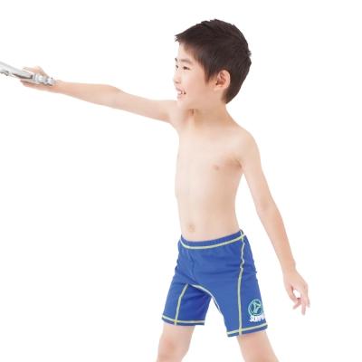 Aquanaut奧可那泳裝 運動藍七分泳褲