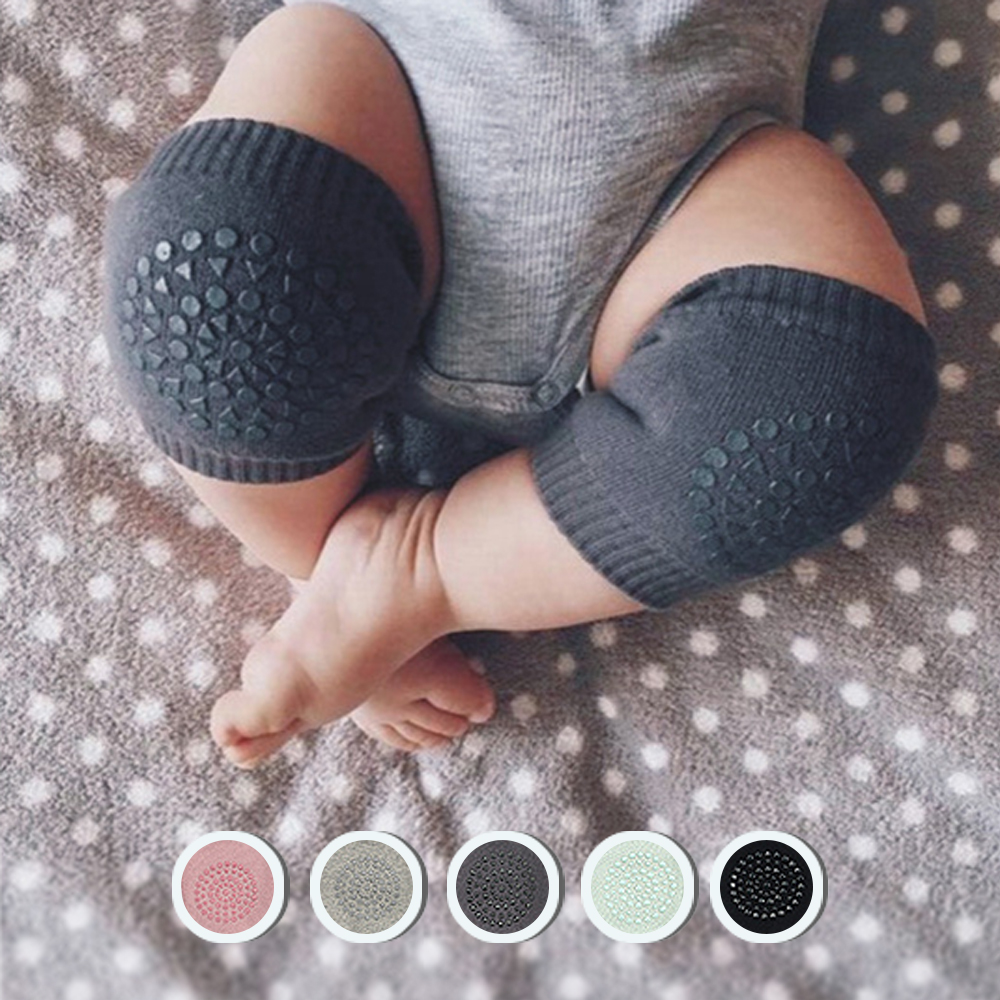兒童護膝護肘 嬰兒寶寶爬行學步護具組 (三雙入)
