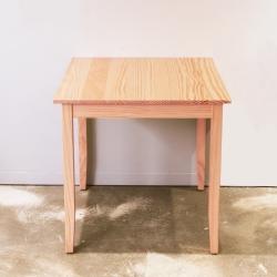CiS自然行實木家具-實木桌74x74cm (溫暖柚木色)