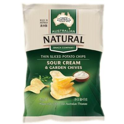 澳洲Natural 酸奶洋蔥口味洋芋片(45g)