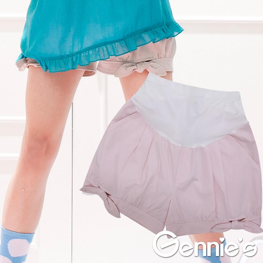 【Gennie's奇妮】魔術酷褲WinCool俏麗綁帶短褲-粉(G4302)