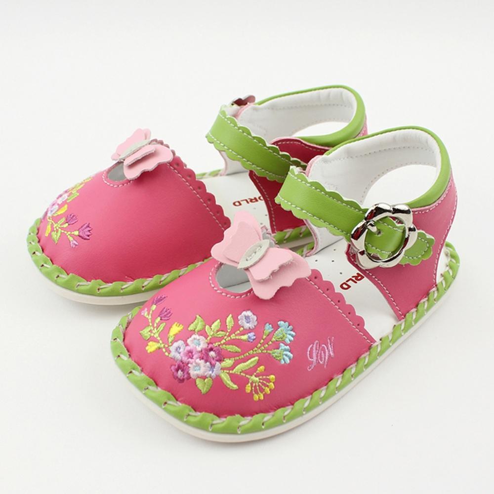 愛的世界 小春天寶寶鞋/學步鞋-台灣製-