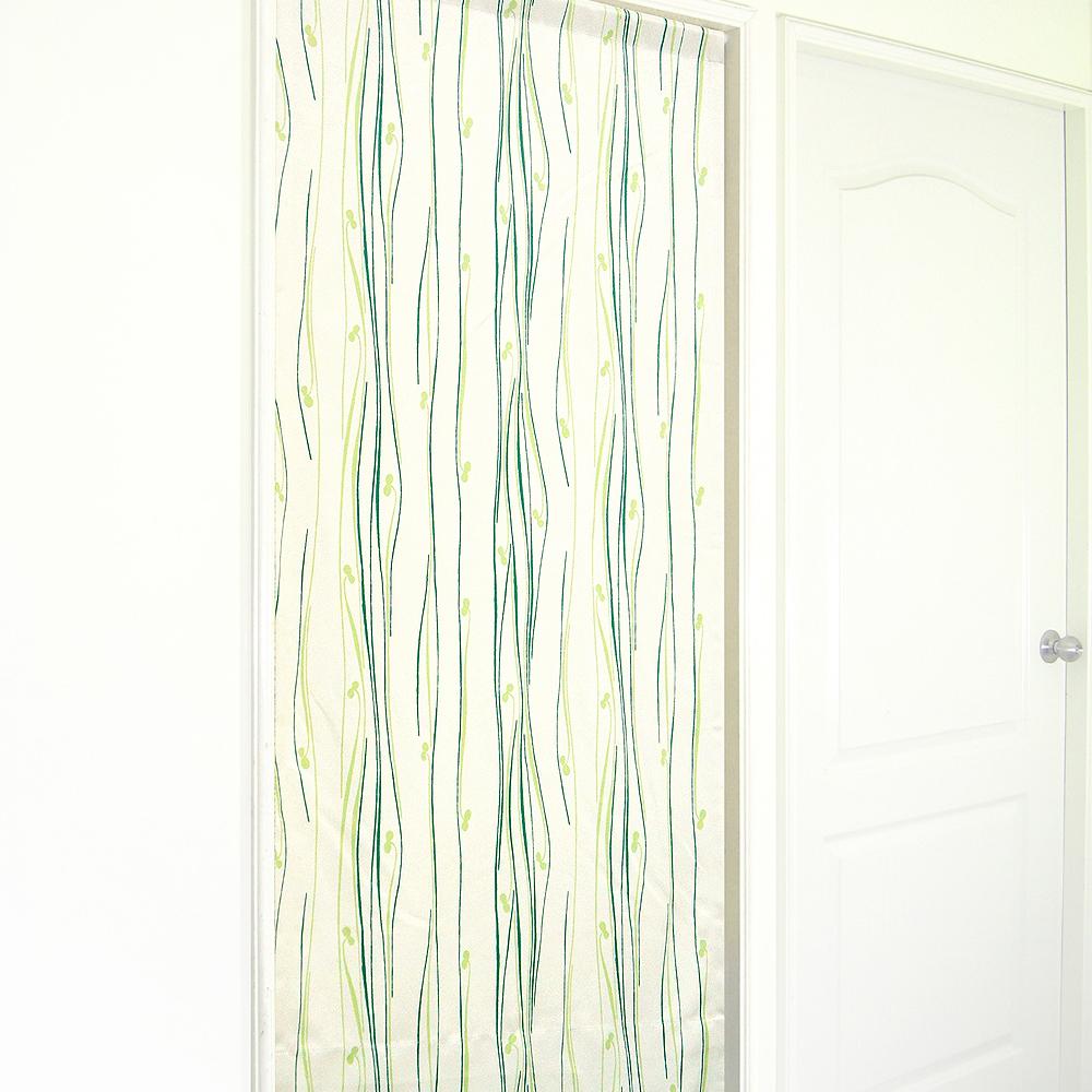 布安於室-琉袖遮光風水簾-綠色