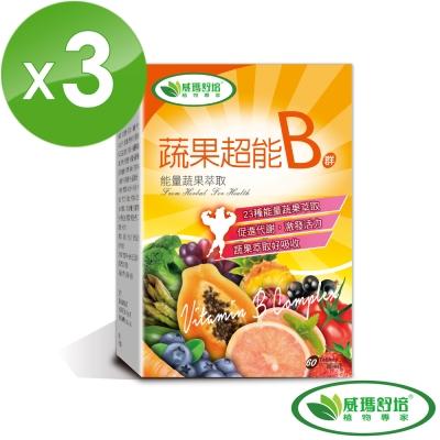 威瑪舒培 蔬果超能B群錠 60錠/盒 (共3盒)