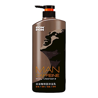 澎澎MAN 咖啡因沐浴乳-1200g