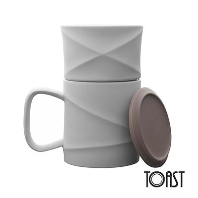 TOAST WAVE 咖啡馬克杯組(暖灰)