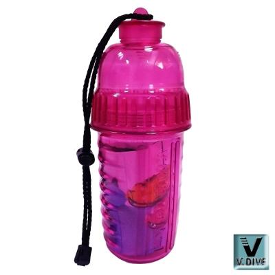 V.DIVE 威帶夫造型防水盒 VW-DB01P透明粉紅