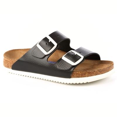 勃肯BIRKENSTOCK 230156亞利桑那經典二條拖鞋(黑色)