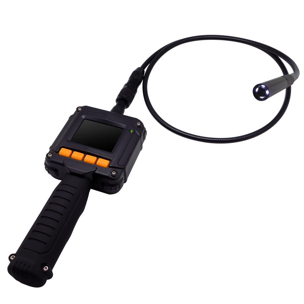 監視器攝影機 - 奇巧CHICHIAU 2.3吋手持式螢幕型蛇管攝影機/支援AV影像輸出