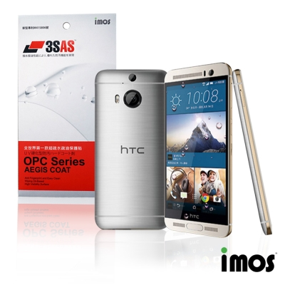 iMos 3SAS HTC one M9 Plus超抗潑水疏油效果保護貼