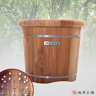 雅典木桶 香椿木 泡腳桶(高40CM)