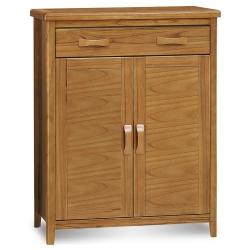 愛比家具 絲莉愛3尺柚木實木鞋櫃