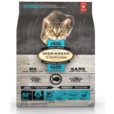 烘焙客Oven-Baked 全貓 無穀魚肉配方 5磅