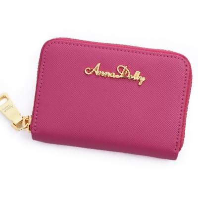 ANNA-DOLLY-防刮牛皮零錢夾-Leathe