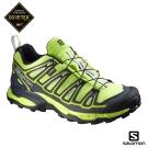 Salomon 登山鞋 低筒 GORETEX 防水 男 X ULTRA 2 綠