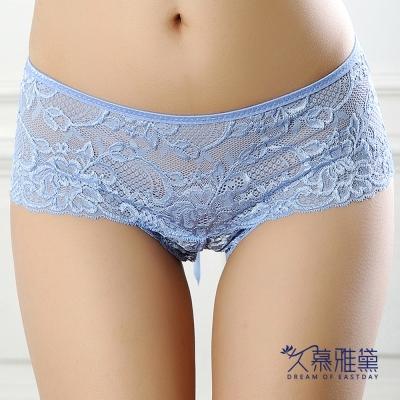 內褲 蕾絲迷情蕾絲精品高質感小褲 久慕雅黛