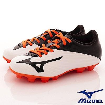 MIZUNO童鞋 MORELIA NEO足球鞋166454黑白橘(中大童段)