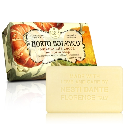 Nesti Dante 天然纖蔬系列-南瓜皂(250g)X2入