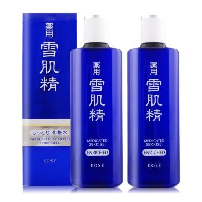 *KOSE高絲 雪肌精-極潤型360mlX2