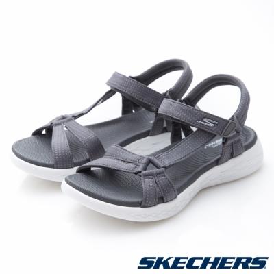 SKECHERS(女)時尚休閒系列ON THE GO 600涼鞋-15316CHAR