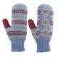 【ATUNAS 歐都納】女款無指保暖手套 A-A1405W 藍 product thumbnail 1