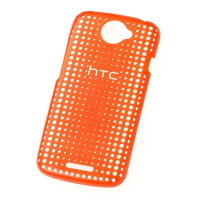 HTC-HC-C744-One-S-原廠洞洞版背殼-橘