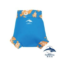 康飛登 Konfidence  嬰幼兒游泳專用外層加強防漏尿布褲 - 水藍/小丑魚