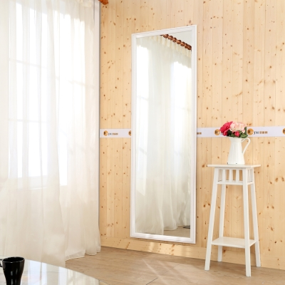 《BuyJM》實木框加大壁鏡(高180*寬60公分)