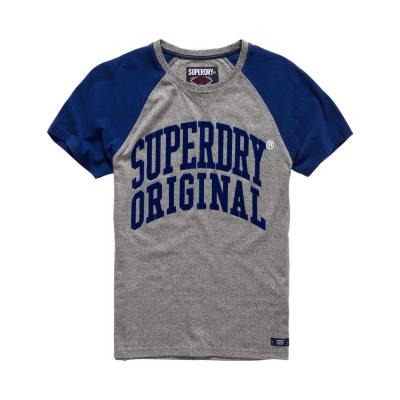 SUPERDRY 極度乾燥 文字短袖 T恤 灰色 0014