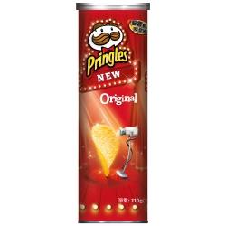 Pringles品客 洋芋片-原味(110g)
